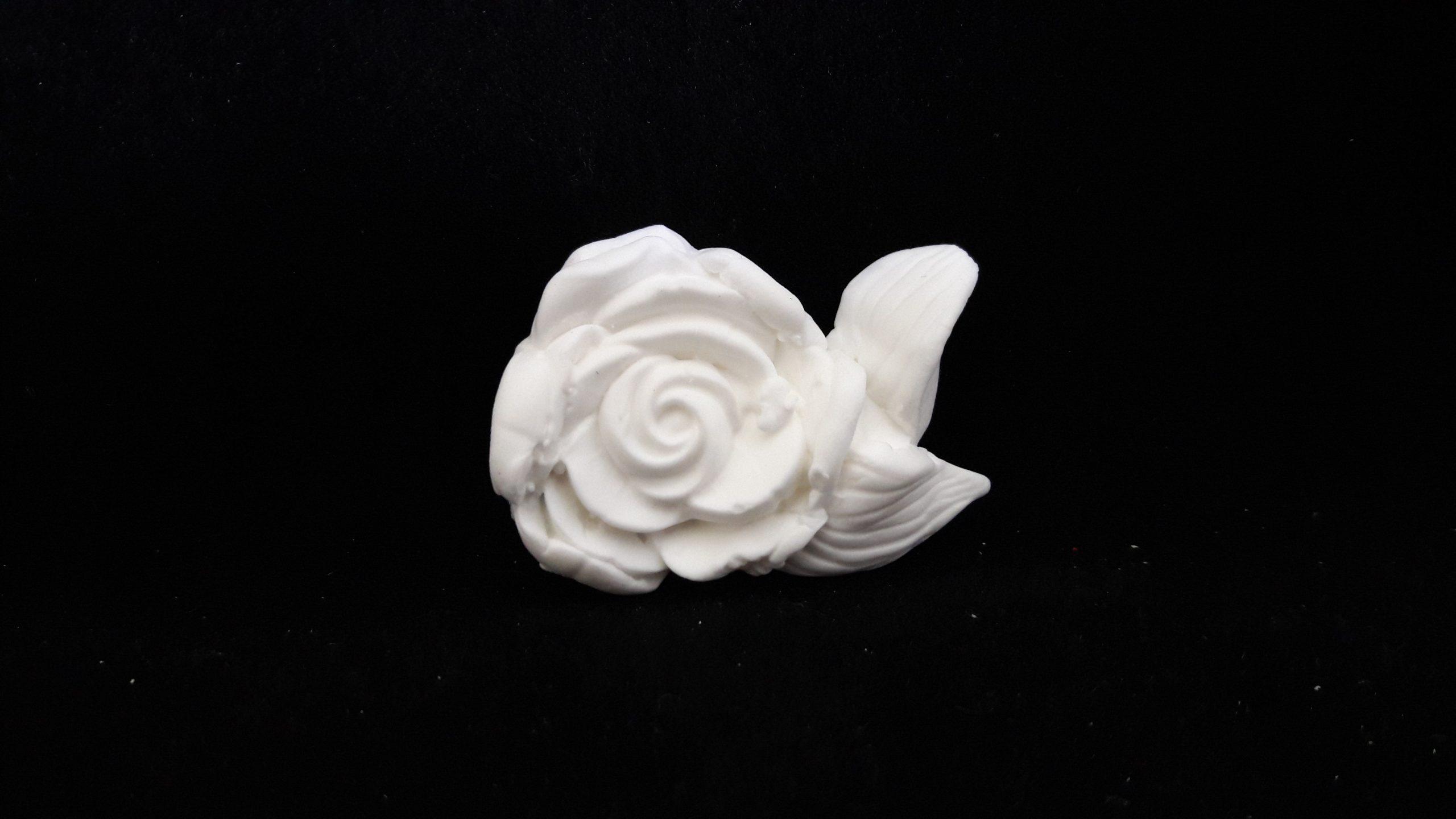 Adorno Rosa Hoja 5x3,5 cms - 1