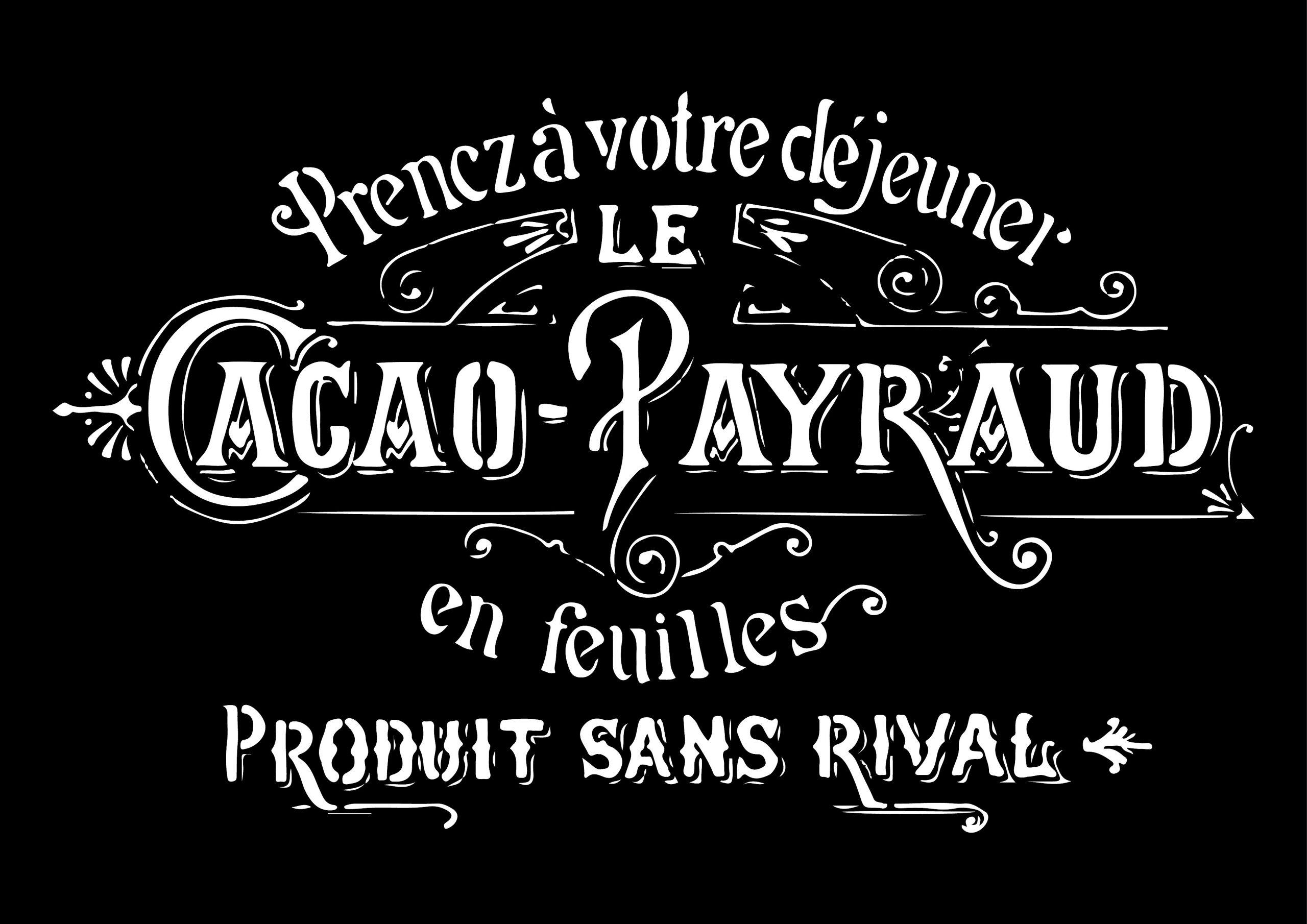 Cacao Payraud - 1