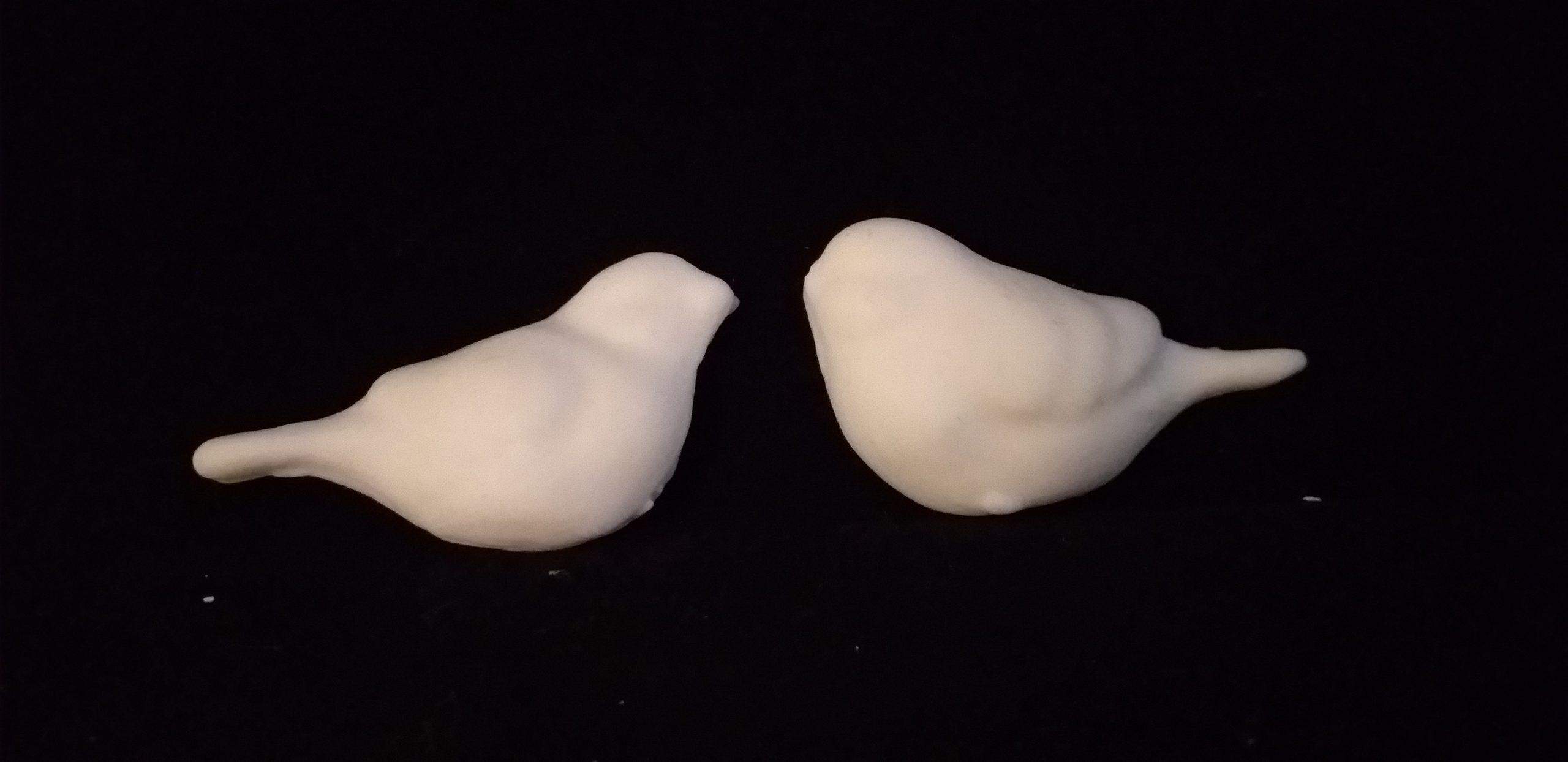 Moldura Pajaritos (par) 17,00 x 8,00 cms. - 1