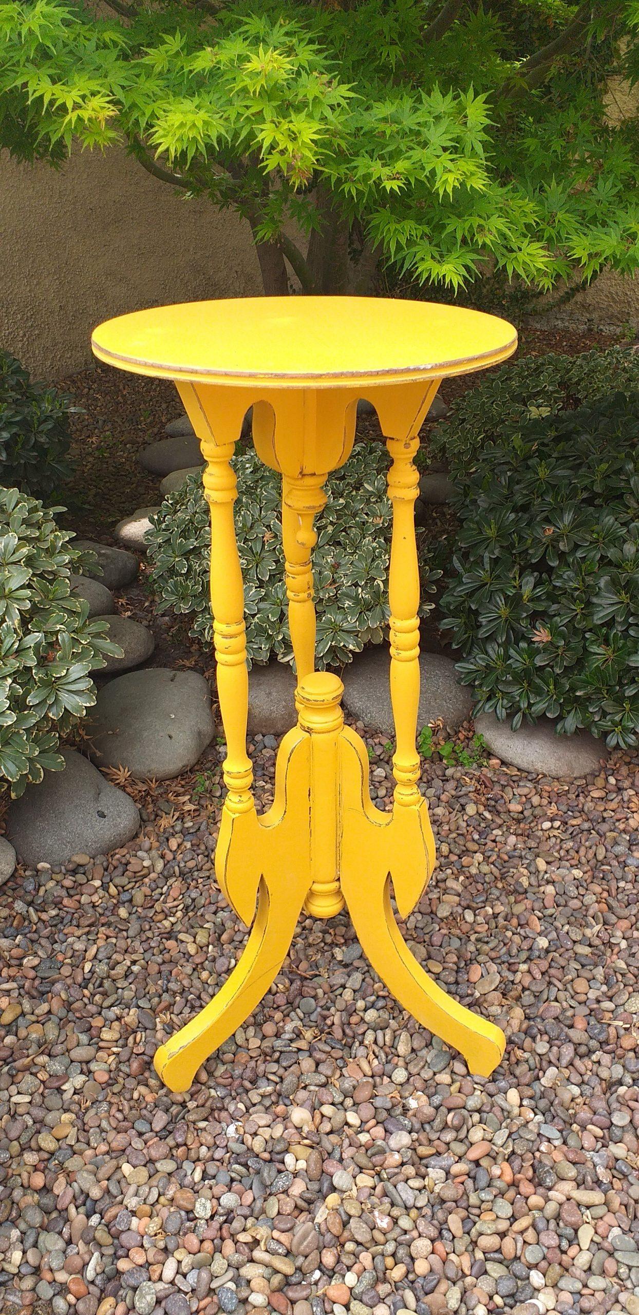 Pintura Vintage Amarillo Vibrante 500 ML - 4