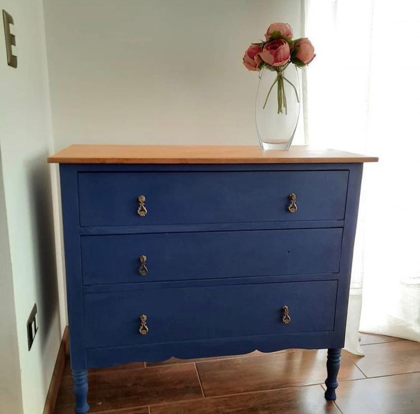 Pintura Vintage Azul Oscuro 500 ML
