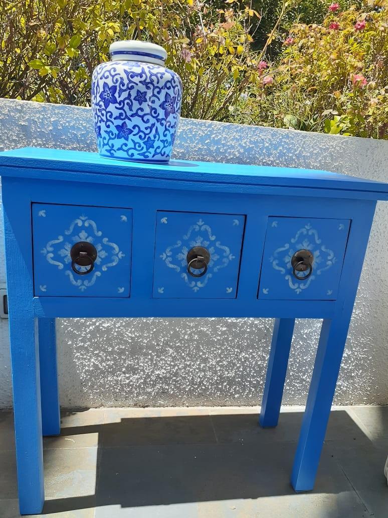 Pintura Vintage Azul Santorini 500 ML