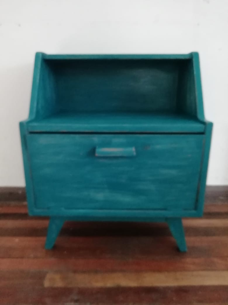 Pintura Vintage Verde Jade 500 ML - 1